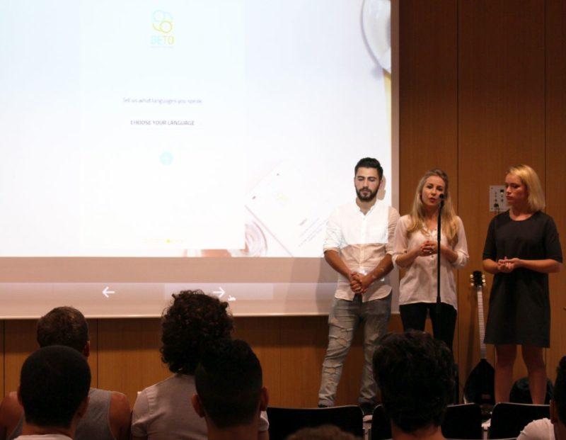 Conny und Julia stellen die BETO-App vor